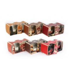6 Assortments of Scented Balm Candle Jars