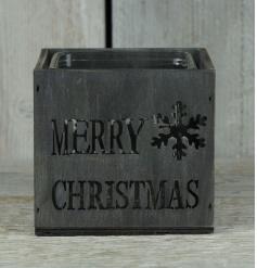 Merry Christmas T Light Holder
