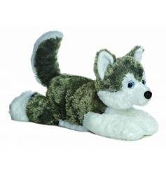 Cute 12 in Husky Soft Toy Shadow