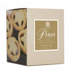 Prices Mince Pie candle Jar