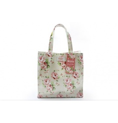 Small Floral Shopping Bag