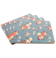 4 Floral patterend Placemat Sets