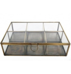 Large Antique Brass Box