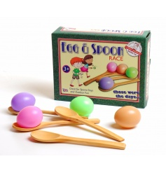 Retro style egg & spoon race game