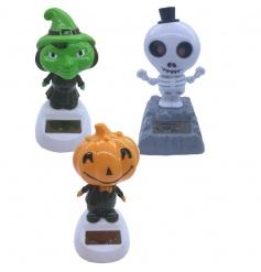 3 assorted halloween solar pals