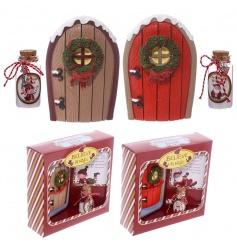 2 assorted believe in Magic Mini Elf Door