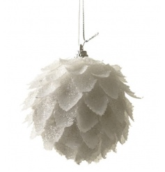 feather looking hanging bauble