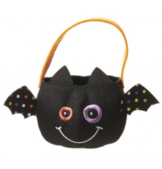 bat designed trick or treat bag