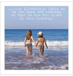 True Friendship Greeting Card
