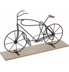 Stock up on the most desired gifts this season, including this unique bicycle wine bottle holder.
