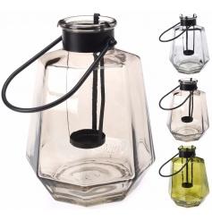 Coloured Glass Lantern, 3a
