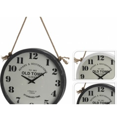 Outdoor Hanging Wall Clock 38cm