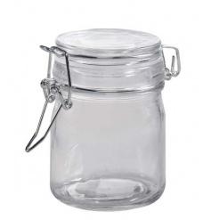 Glass Storage Jar, 9cm