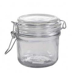 Glass Storage Jar, 8cm