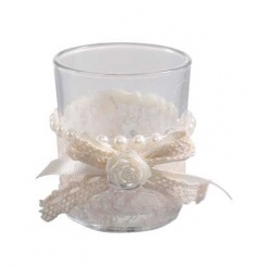 Pearl Candle Holder, 7cm