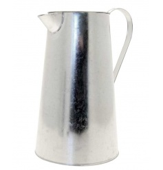 Large Galvanised Jug, 27cm
