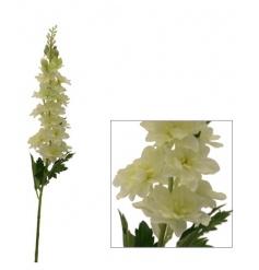 Cream Delphinium Artificial Flower 70cm