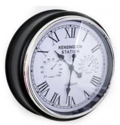 Kensington Station themed large wall clock
