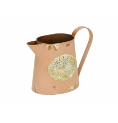 Fill this beautiful Parisian inspired jug with flowers, display as pictured on your dresser or use to plant up!