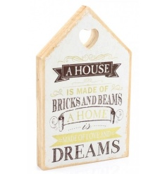A house is made of bricks and beams - a home is made of love and dreams