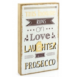 3D wooden plaque with popular Home quote