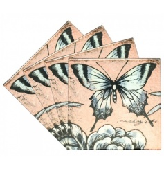 Vincenza Butterfly Coasters S4