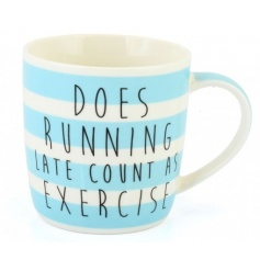 Running Late Mug Boxed