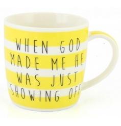 When God Made Me Mug