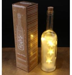 Christmas Bottle With Led Light