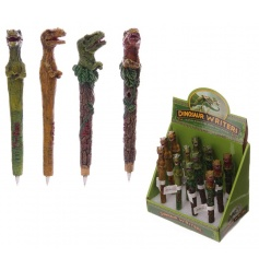 Scarily realistic novelty T-Rex writing pens, come in an assortment of colours
