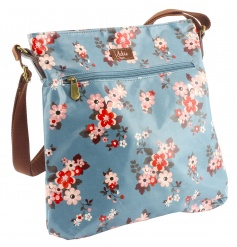 Oilcloth cross body bag from the 'Katie' collection by Leonardo