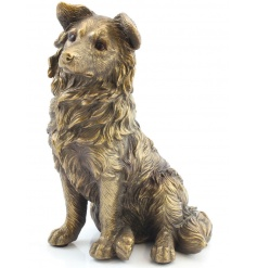 A fine quality, stylish bronzed collie from the popular Bronzed Reflections range.