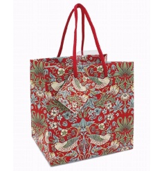 A stylish small gift bag in the popular Strawberry Thief design by William Morris. As beautiful as the gift inside!
