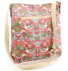 A stylish and practical cross body bag for when you're on the go. Complete with the gorgeous Strawberry Thief design
