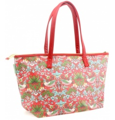 A stylish and practical tote bag in the popular Strawberry Thief design by William Morris. On trend this season.