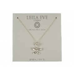 Especially for you. A beautiful sterling silver butterfly necklace by Leila Eve.