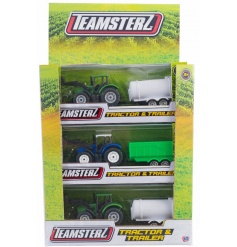 Create some fun with this assortment of tractor and trailer toys. Ideal for little ones to enjoy.