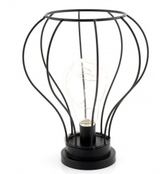 A contemporary style LED lamp. A chic home accessory for all styles.