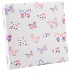 A pretty memo pad with pen. A great gift and stationery item.