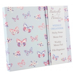 A pretty organiser pack including a weekly memo pad, sticky notes and more!