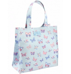 A stylish and practical mini shopper with a pretty butterfly design.