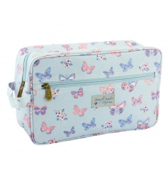 A pretty travel wash bag in the popular butterfly paradise design. A lovely gift item and home essential.