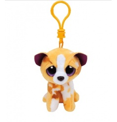 A loveable Beanie Boo clip with a super soft feel. Perfect for clipping to bags, keys and prams.