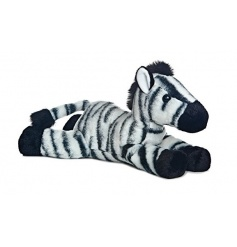 A fine plush zebra toy with durable and washable fabric. A fantastic toy for little ones to enjoy.