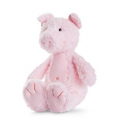 A super soft and cuddly pink pig toy from the Natures Friend range. Perfect for little ones to enjoy and explore.