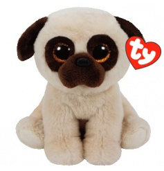 Keep your little ones entertained with this adorable pug Beanie Boo from the popular TY range.