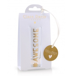 A beautifully packaged shot glass with an 'awesome' slogan. A great gift item for many occasions!