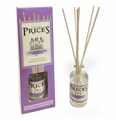 A beautifully fragranced reed diffuser with a herbaceous lavender scent.