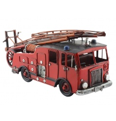 A fine quality fire engine model. A great gift item and keepsake.