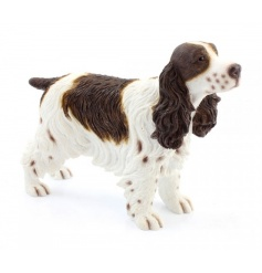 A fine quality cocker spaniel dog figurine from the Leonardo collection.